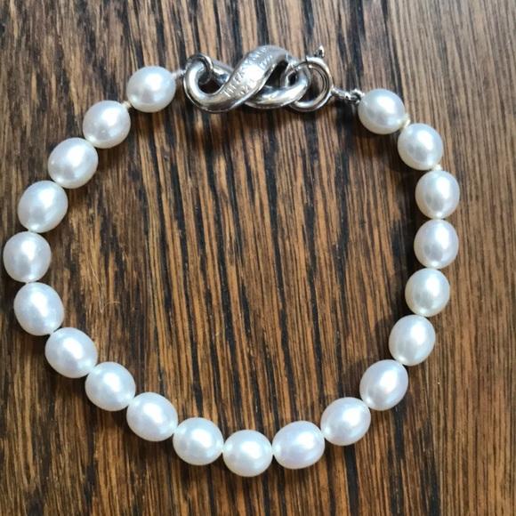 faae3a4a2 Tiffany & Co. Jewelry   Tiffany Co Rare Freshwater Pearl Bracelet ...